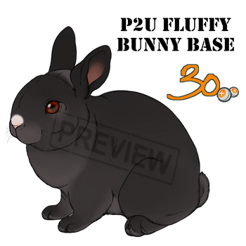 Pay2Use Fluffy Bunny Base 30pts by konikfryzyjski