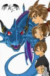 Blue Dragon Coloured by l3xxybaby