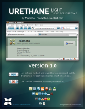 Urethane Light for Firefox 2 by Miamoto