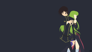 Lelouch/C.C. {Code Geass} by greenmapple17