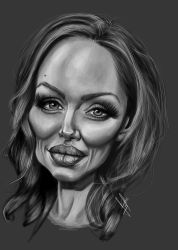 angelina jolie by N4dka