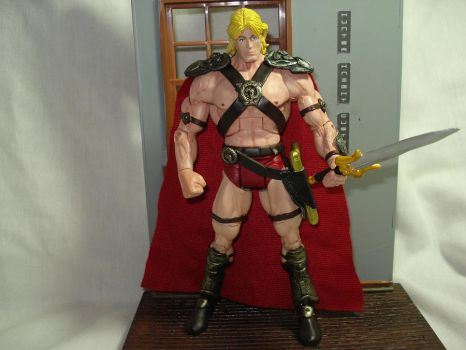 custom movie he-man dolp Lundg by hunterknightcustoms