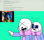 Ask ttoba Sans or Reflection #13 by cjc728