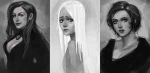 Portraits by Ailovc