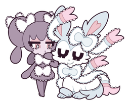 gothorita and sylveon