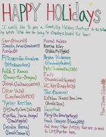 25CoC 23: Holiday Shoutouts by CelmationPrince