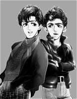 Paul and George by wingsoverDA