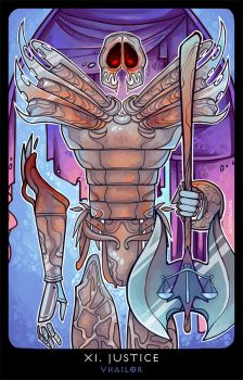 Planescape: Tarot. XI. Justice by alphyna