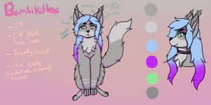 Bambikittens ref sheet August 2017 by BambiKittens