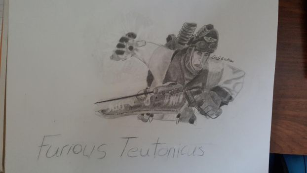 Furious Teutonicus SKETCH by PieSpie8743