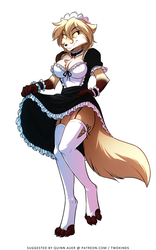 Maid Clovis by Twokinds
