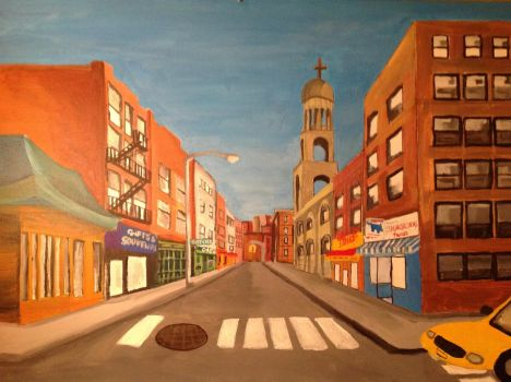 Bleecker Street Painting by Ducklover4072