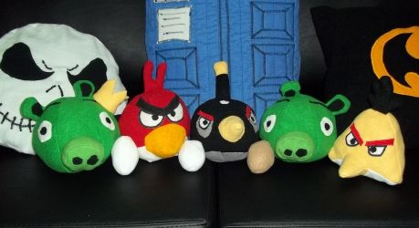 Angry Birds by Vangi
