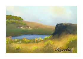 remote cottages by IrysArt