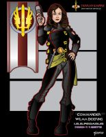 Commander Wilma Deering by stourangeau