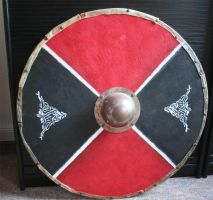 Viking Round Shield I by hollow-reenact