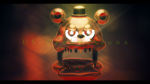 Adventure Nightmare Freddy | FNaF (Remodeled) by DS-Productions2
