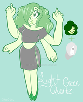 Light Green Quartz Fusion by Sabzies