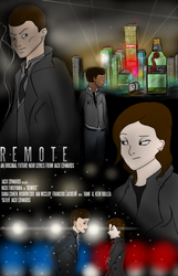 Remote - 'Cinematic' Poster by Space-Sweeper