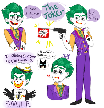 Lego Joker by SketchBird5