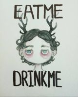 Eat me Drink me by HannaLoony