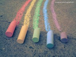 chalks. by MoGyEe