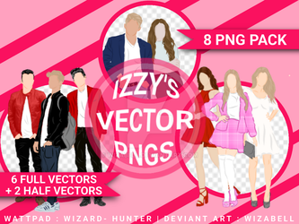 VECTOR PNG PACK by Wizabell