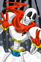 I Am The Great Papyrus! by FlairNightz