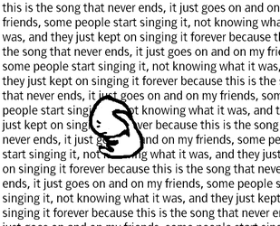 The Song That Never Ends by Linkzcap