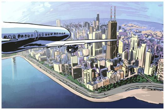 ''Chicago'' page 1 by lukeradl