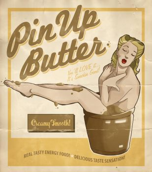pin up butter