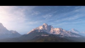 When the Sun Rises II by hoangphamvfx