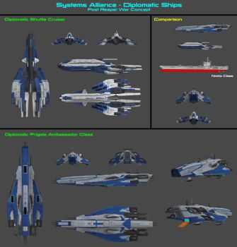 Alliance Diplomatic Ships by nach77