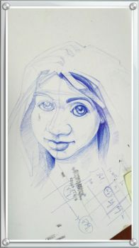 Sketch ballpoint pen 1 by slavoicus