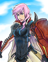 Lightning Returns: Final Fantasy XIII by TLEEART