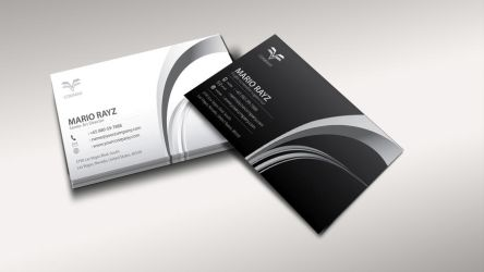 Air controller business card 6 by Lemongraphic