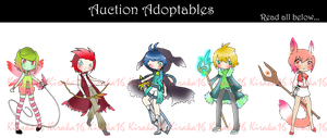 Auction Adoptables Set (open) by Kiraka16