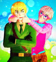 [MMD] Arthur and Oliver by Gummi-Candy