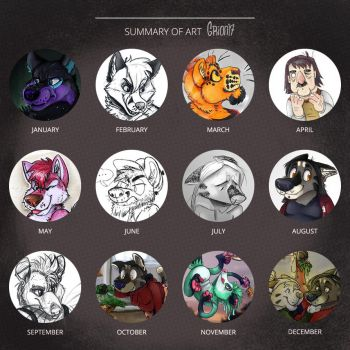2017 art summary by Grion