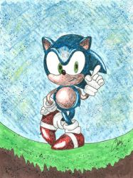 Sonic the Hedgehog Request by Chuck-K
