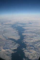 Iordania from the plane by templar666