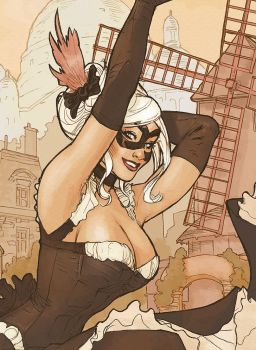 Chatte Noir Detail by TerryDodson