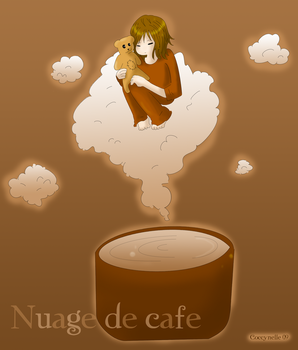 Nuage de cafe by Coccynelle