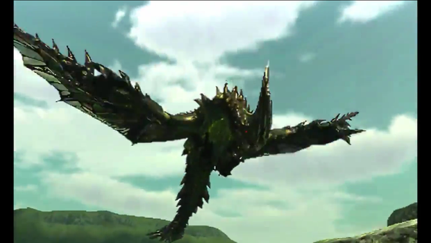 Unnamed MHX Monster 1: Dragonfly by ScarletSpike