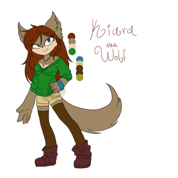 Kiara the Wolf by Maria-Aguirre