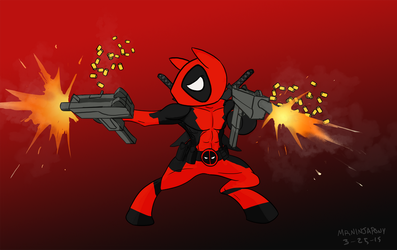 Deadpool pony by lookup4napkins