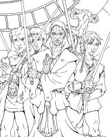 Knights of the Old Republic by Koshindou
