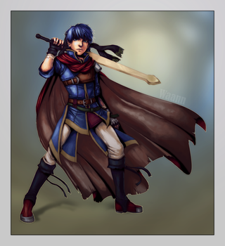 Art trade: Ike by Chosen-of-Xenodrupe