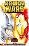 Armor Wars Sketch Cover by GavinMichelli