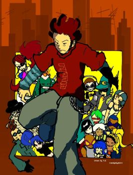 Jet Set Radio FUTURE for Tei by candybeyatch